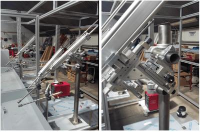 Rys 2. Mechanizmy GN 900 w aplikacji głowicy podającej drut do lutowania. Producent SRS Automation.
