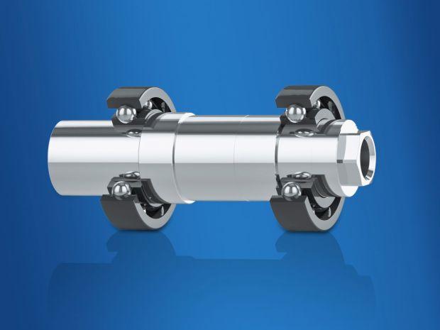 Enkodery Baumer w wykonaniu HeavyDuty posiadają obustronne ułożyskowanie wału, co zapewnia bardzo duży nadmiar mocy i niedoścignioną długość eksploatacji. Ze względu na swoją niesamowitą wytrzymałość na oddziaływanie sił osiowych i promieniowych, łożyskowanie wału na obu jego końcach doskonale sprawdziło się w konstrukcjach maszyn elektrycznych.