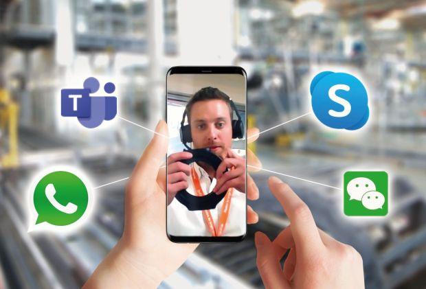 Specjaliści motion plastics firmy igus osobiście wspierają i udzielają porad za pośrednictwem szerokiej gamy cyfrowych kanałów komunikacji. (Źródło: igus GmbH)