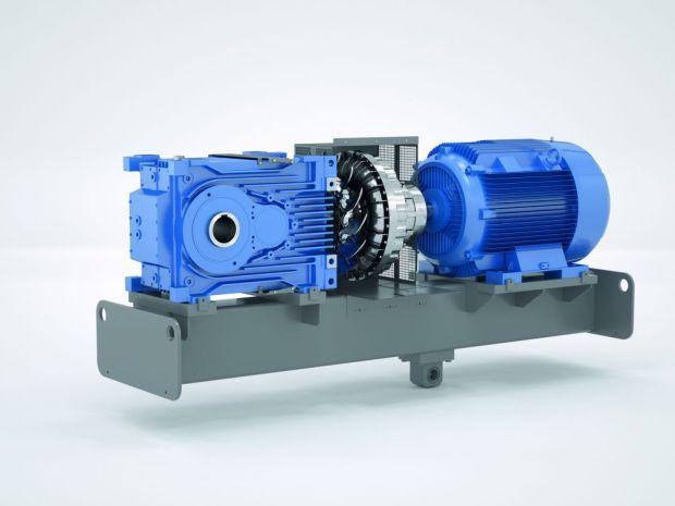 Dwustopniowe przekładnie MAXXDRIVE® XT zostały specjalnie zaprojektowane do zastosowań wymagających niskich przełożeń w połączeniuz wysoką mocą. Fot NORD DRIVESYSTEMS