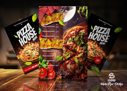 Pizza House Flyer