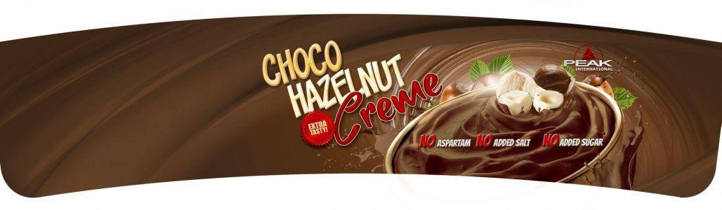 Csokoládés Mogyorós Krém címke