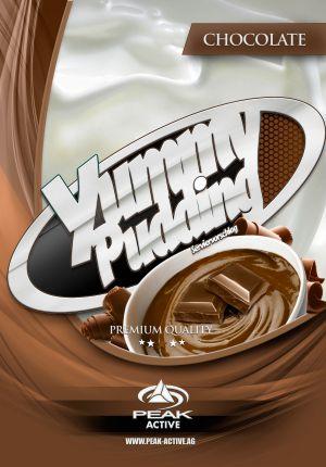 Protein Puding csokoládé címke