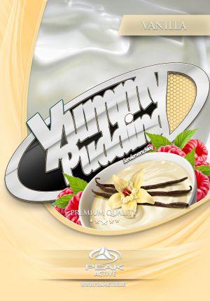 Protein Puding Vanillia címke