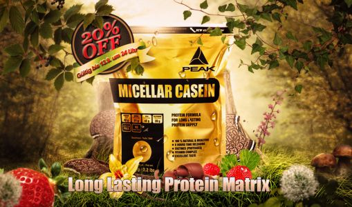 Micellar Casein New Peak Header