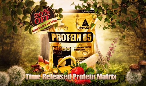 Protein 85 New Peak Header
