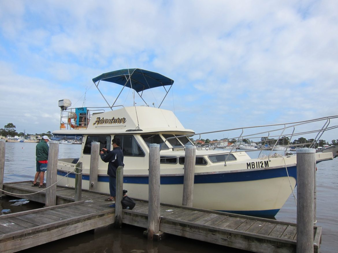 Boating in Gippsland Lakes