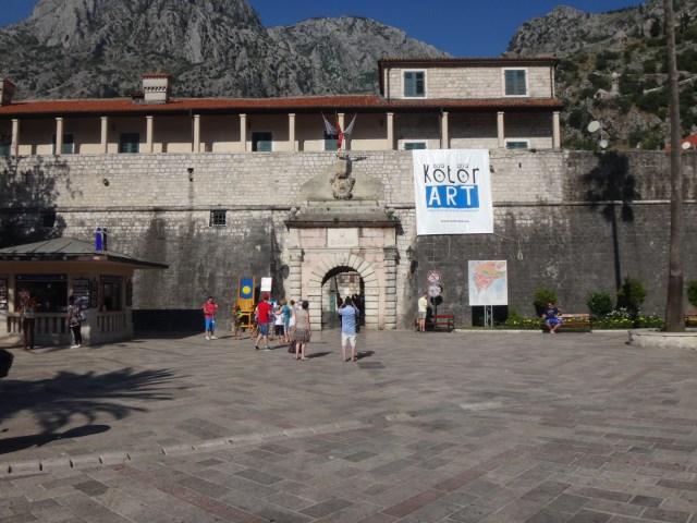 Sea gate Kotor