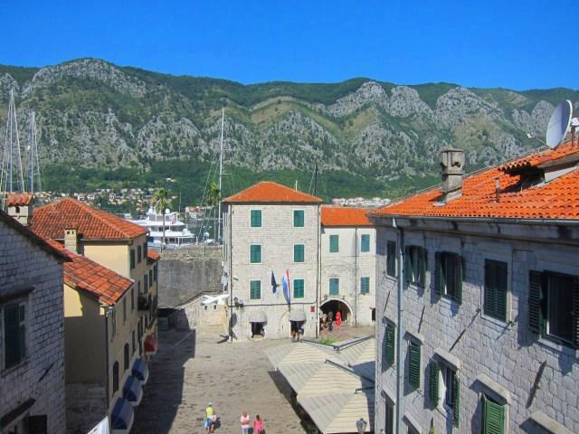 View from Hotel Vardar