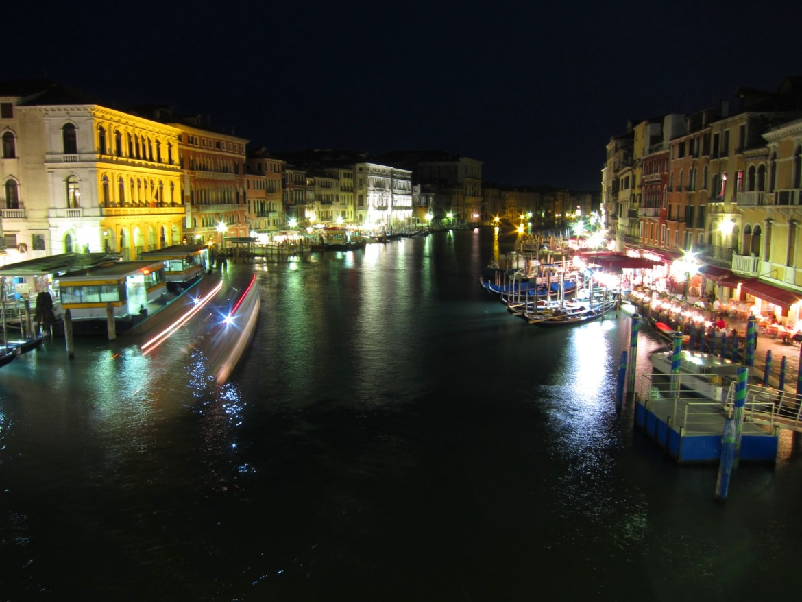 Grand Canal at Midnight