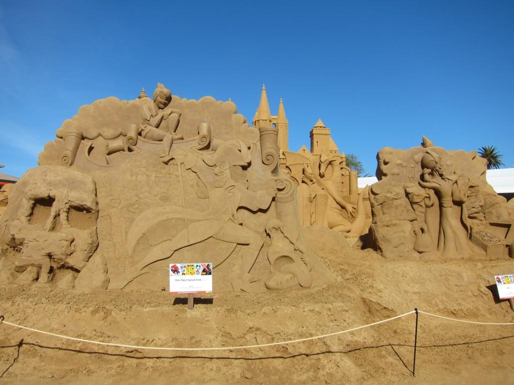 sand sculpts