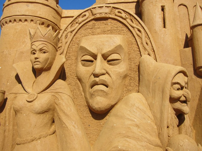 snow white sand