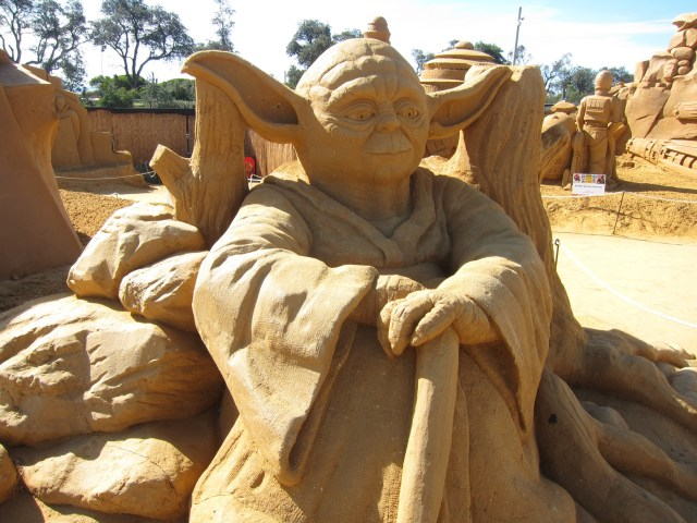 yoda sand