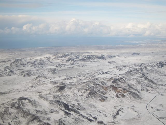 Iceland from the air