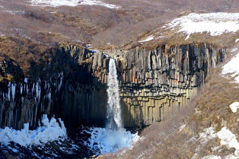 Black Falls at Skaftafell