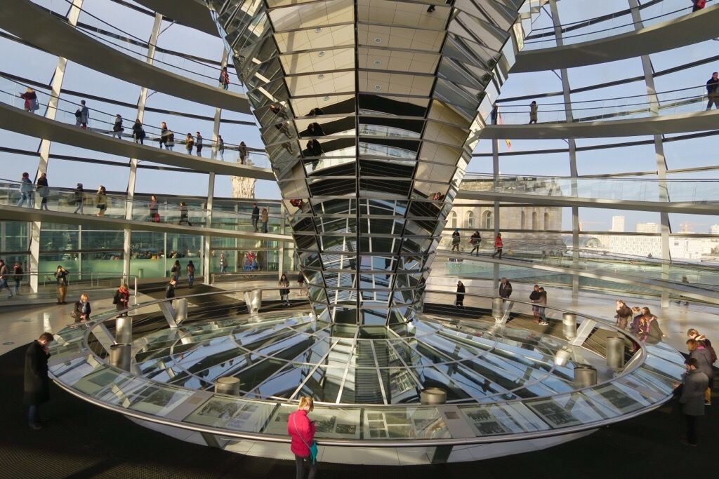 A morning walk to the Reichstag