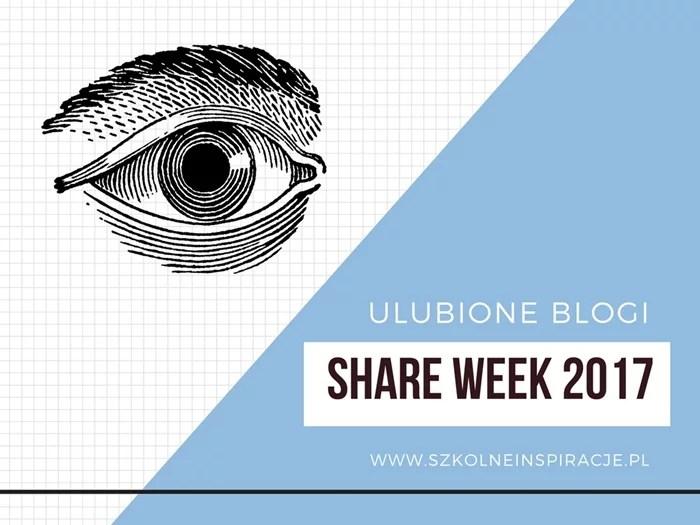 Share Week 2017 – ulubione blogi
