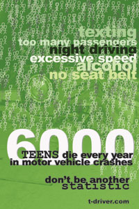 Communications Arts High School poster - '6000'