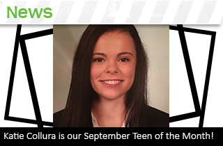 Sept 2017 teen of the month Katie Collura – news box
