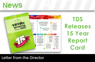 TDS News box report card letter