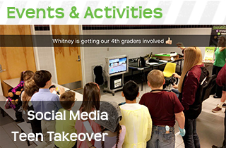 TDS events box teen takeover