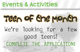 teen of the month