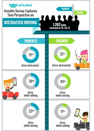 tds distracted driving infographic
