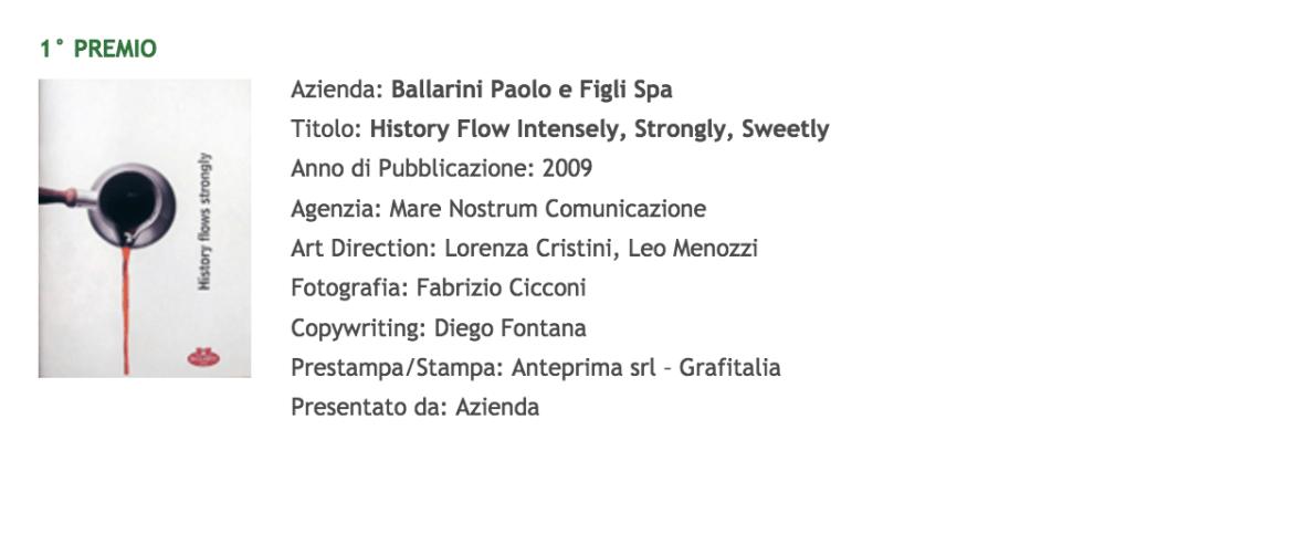 Testi per monografie - Diego Fontana premio OMI
