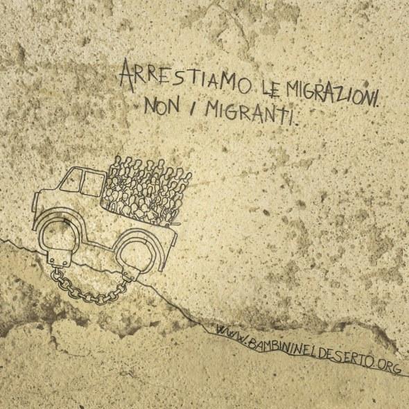 Campagna stampa per Bambini nel deserto a cura di TERRA di Diego Fontana