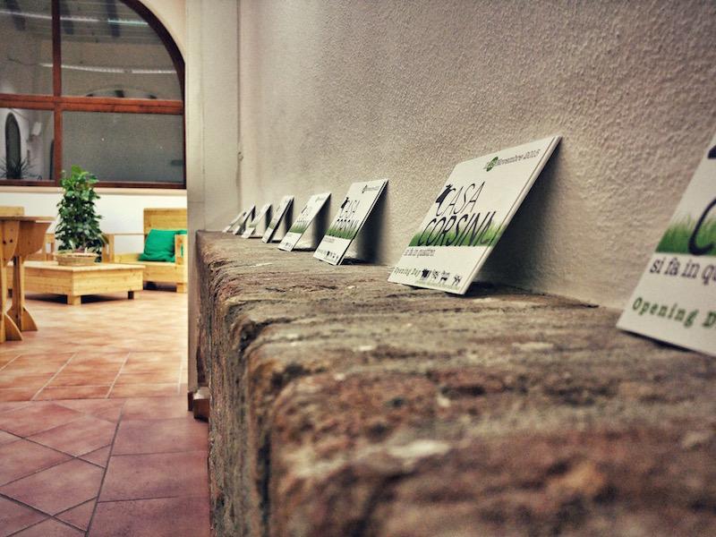Casa Corsini - identità visiva