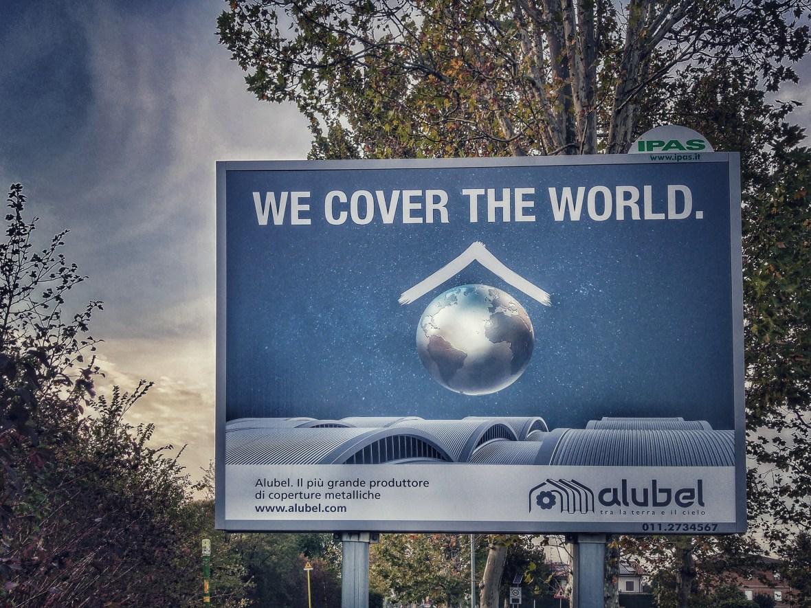 Campagna pubblicitaria per Alubel