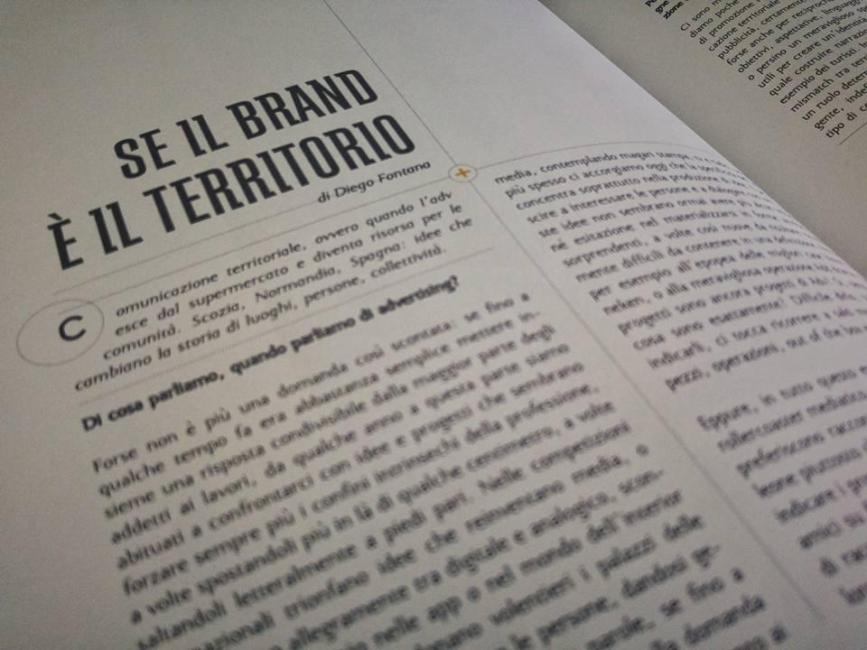 Comunicazione territoriale, articolo di Diego Fontana su Bill Magazine numero 15