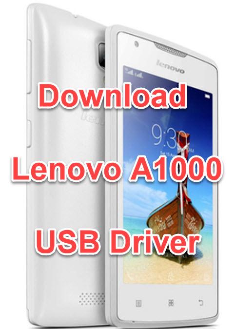 Lenovo a1000 драйвер