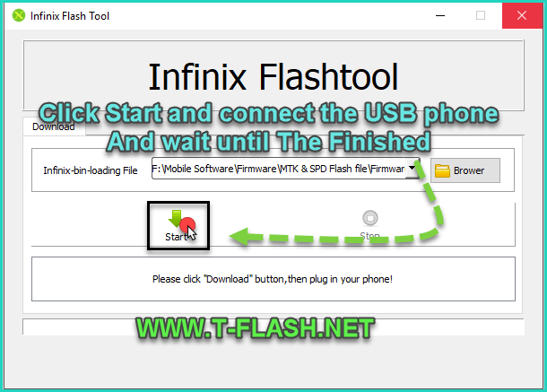 5-Download Infinix Flash Tool (all versions)