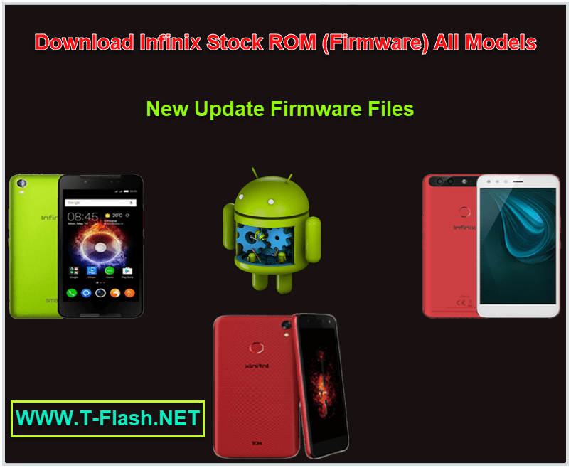 infinix stock rom All Models