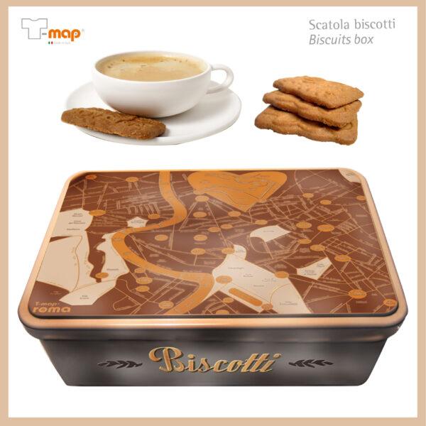 box biscotti T-map Roma