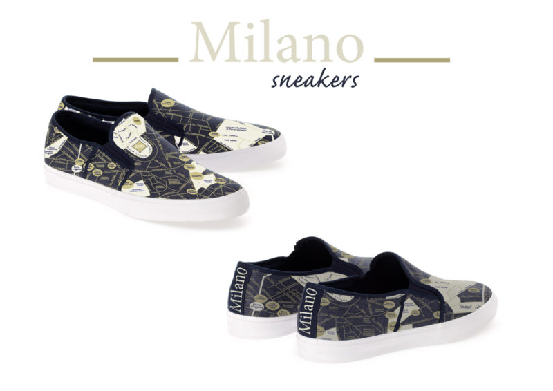 sneakers Milano t-map