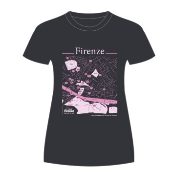 Firenze T-shirt T-map