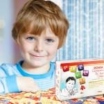 puzzle roma con bambino