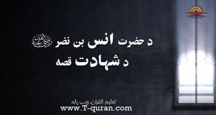 د حضرت انس بن نضر د شهادت قصه