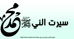 سیرت النبي صلی الله علیه وآله وسلم