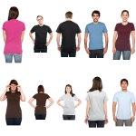 Photo t-shirt template models