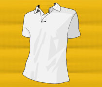 Polo T-shirt Template