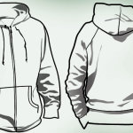 Hoodie template photoshop