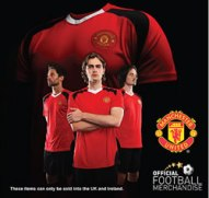 Official Manchester United t-shirts