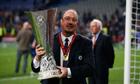 Rafael Benítez sad to see Chelsea reign end after Europa League success - video