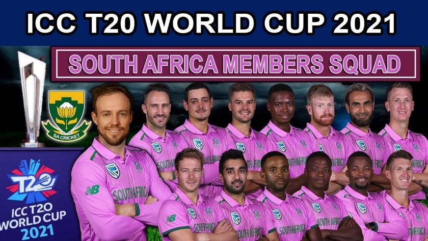 South Africa Team for ICC T20 World Cup 2021 Players Lis