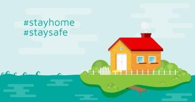 Stay Home Corona Coronavirus