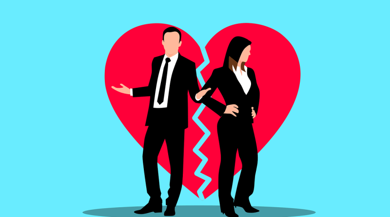 Couple Heartbreak Divorce Heart  - mohamed_hassan / Pixabay