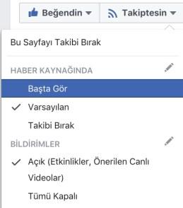 FB Takip